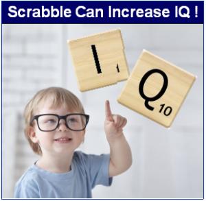 Scrabble to Increase IQ