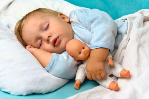 Baby Boy Hugs Doll