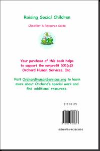 Raising Social Children BACK of BOOK