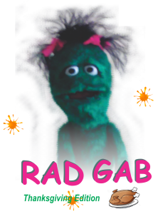 RAD GAB - Egged Thanksgiving